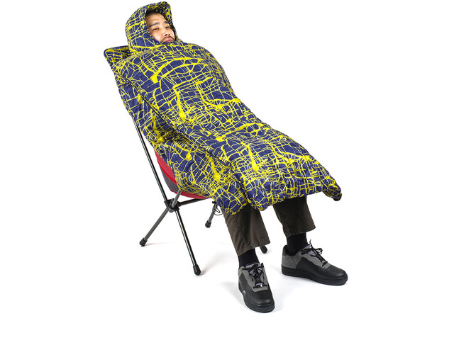 Helinox Toasty til solnedgang / strandstol, gul/blå